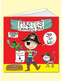 Image of Pirates Colouring Book